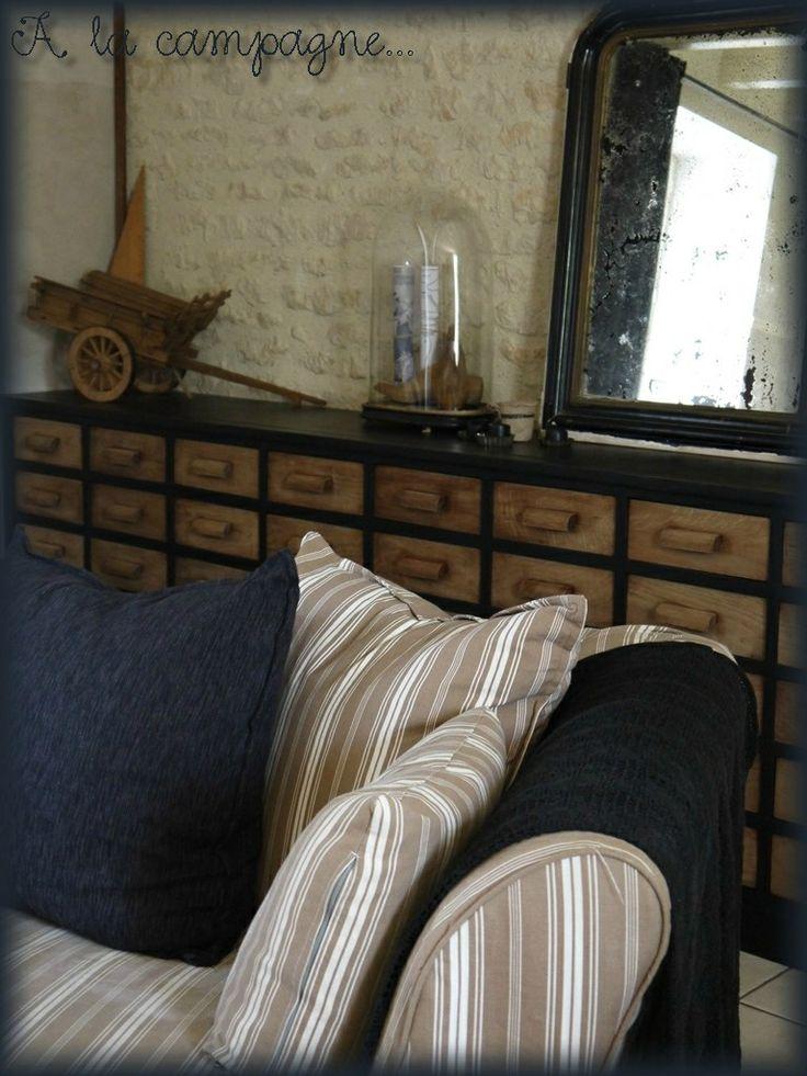 Décoration meuble de métier