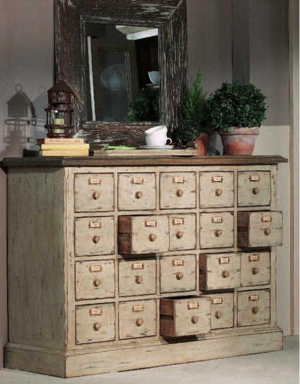 Les meubles de m tier d corent la maison floriane lemari - Meuble de metier ancien brocante ...