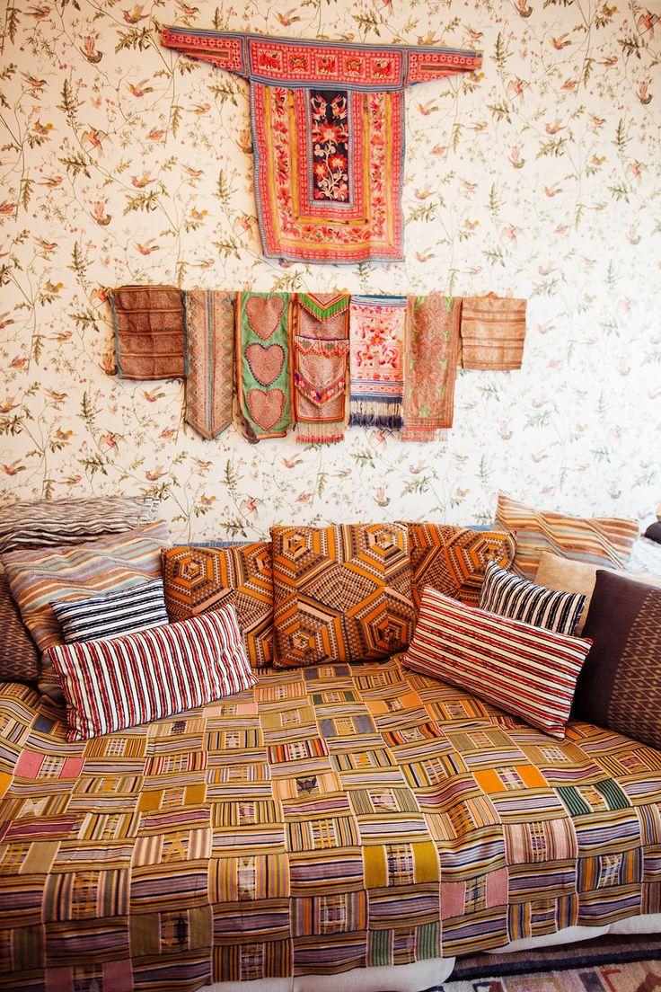 Décoration textiles muraux