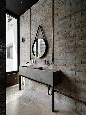 Des salles de bains en béton ! - Floriane Lemarié