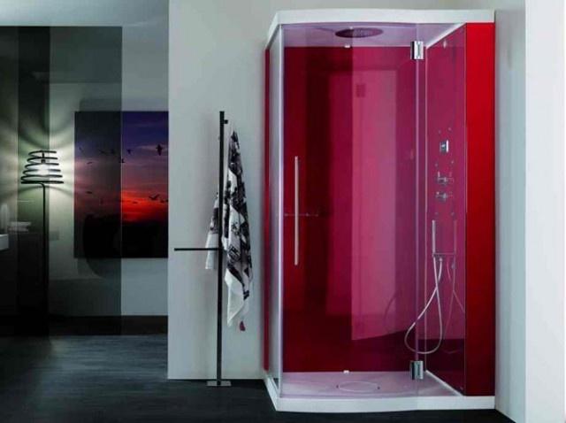 dcoration salle de bain flashy - Salle De Bain Fushia Et Vert