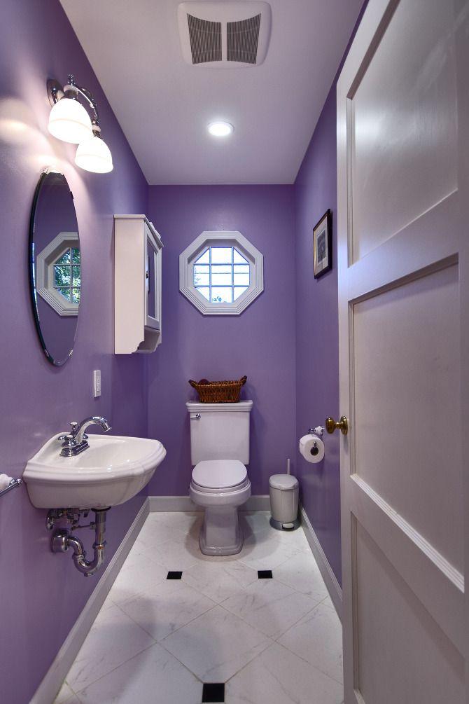 Décoration salle de bain flashy