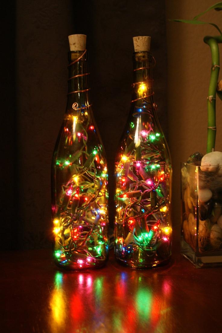 Décoration bouteilles