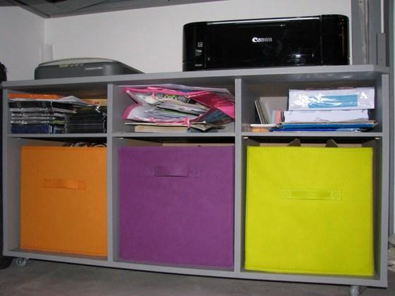 Décoration bureau palettes