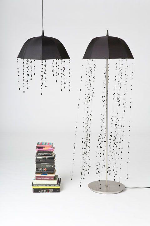 Décoration pluie