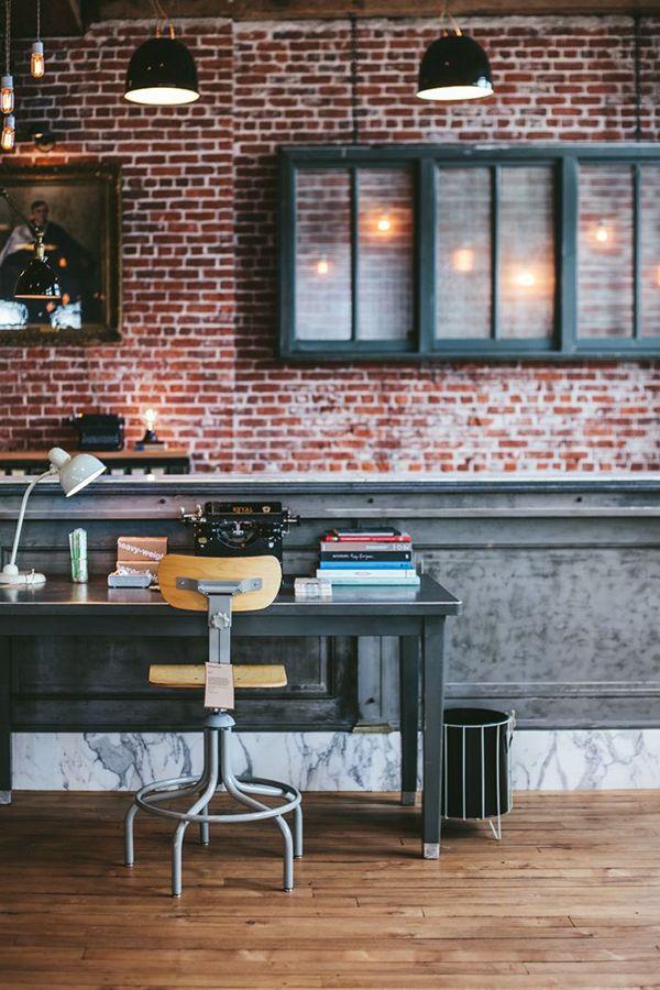 La briquette inspire la d co floriane lemari - Briquette decoration interieur ...