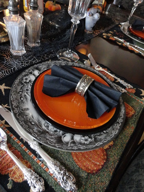 Décoration de table Halloween