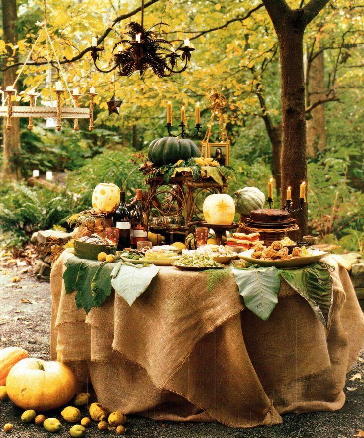 Décoration jardin halloween