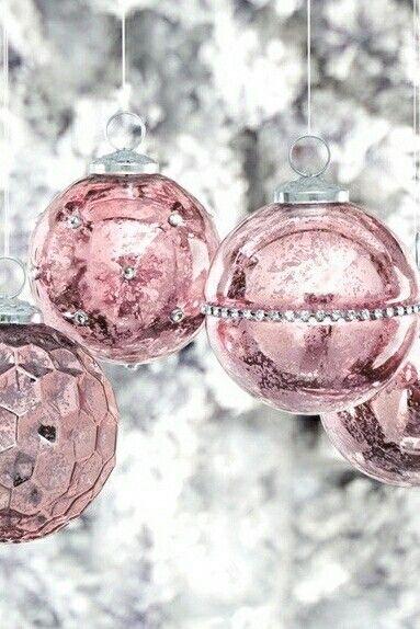 Décoration Noël rose