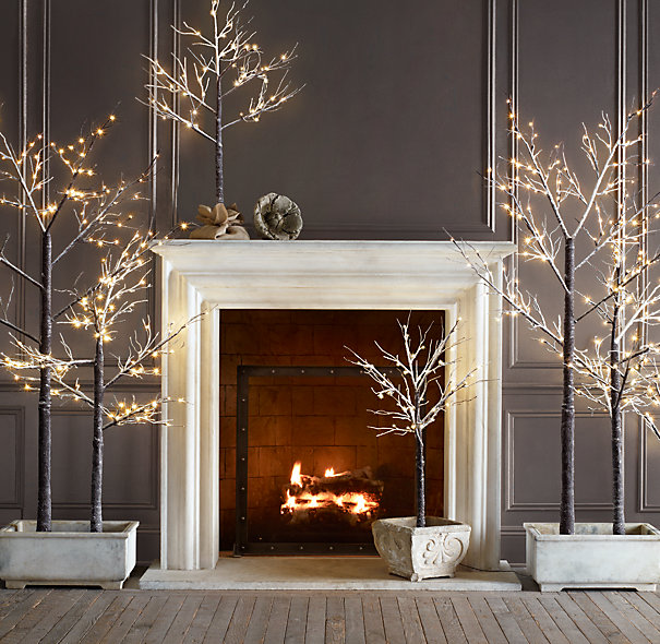 Holiday Home Design Ideas: Coup De Cœur : Des Arbres Lumineux Au Salon