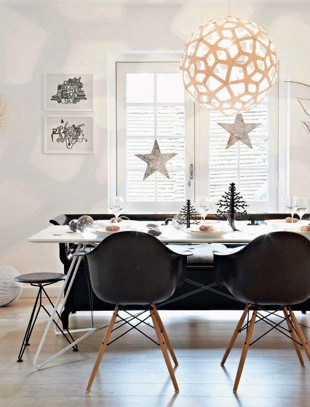 Noël noir et blanc