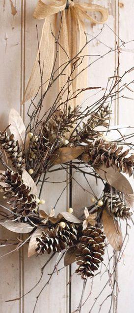 Décoration Noël rustique