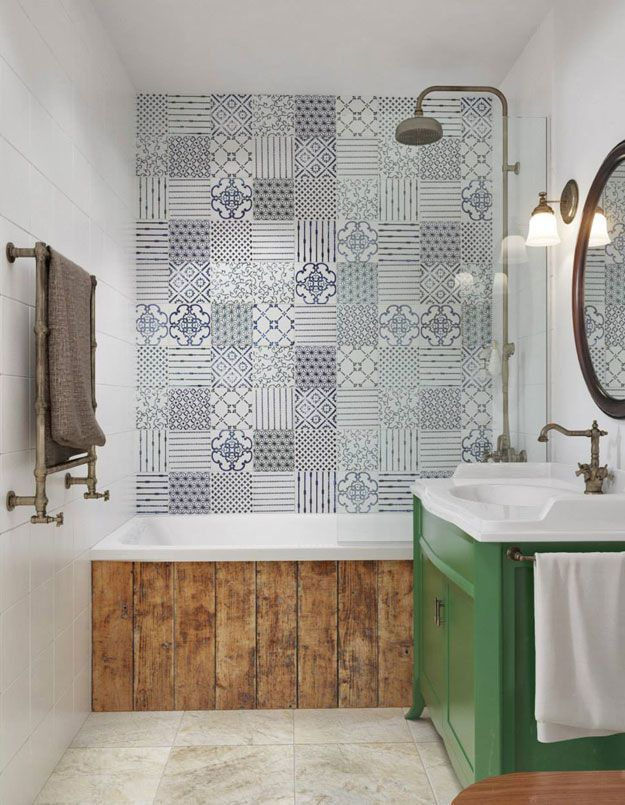 Emejing Salle De Bain Carreau Ciment Mur Contemporary - House Design ...