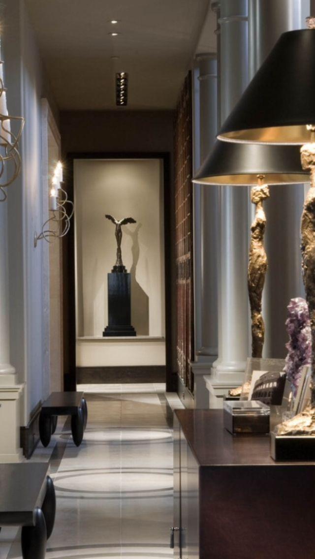 clairage couloir 640 1 136 pixels couloir pinterest. Black Bedroom Furniture Sets. Home Design Ideas