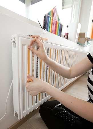 Décoration radiateur