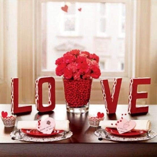 Décoration Saint-Valentin
