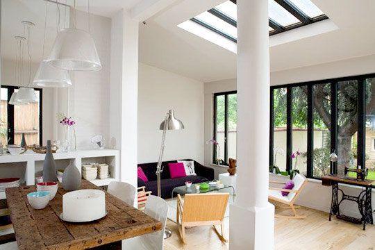 La v randa illumine les int rieurs floriane lemari for Extension maison avec verriere