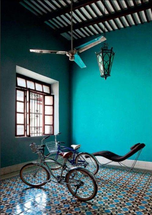 Le bleu turquoise : lumineux et paradisiaque - Floriane Lemarié
