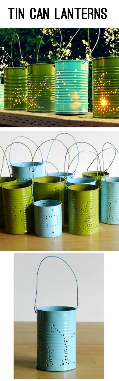 Décoration lanternes DIY