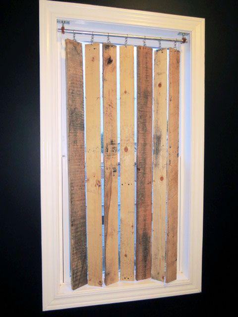 L 39 id e d co du samedi des rideaux avec du bois de for Idee deco avec du bois