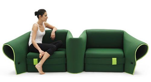 Design canapé
