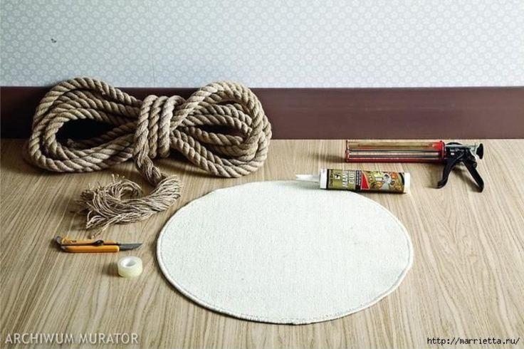 Décoration tapis DIY