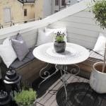 Décoration petit balcon