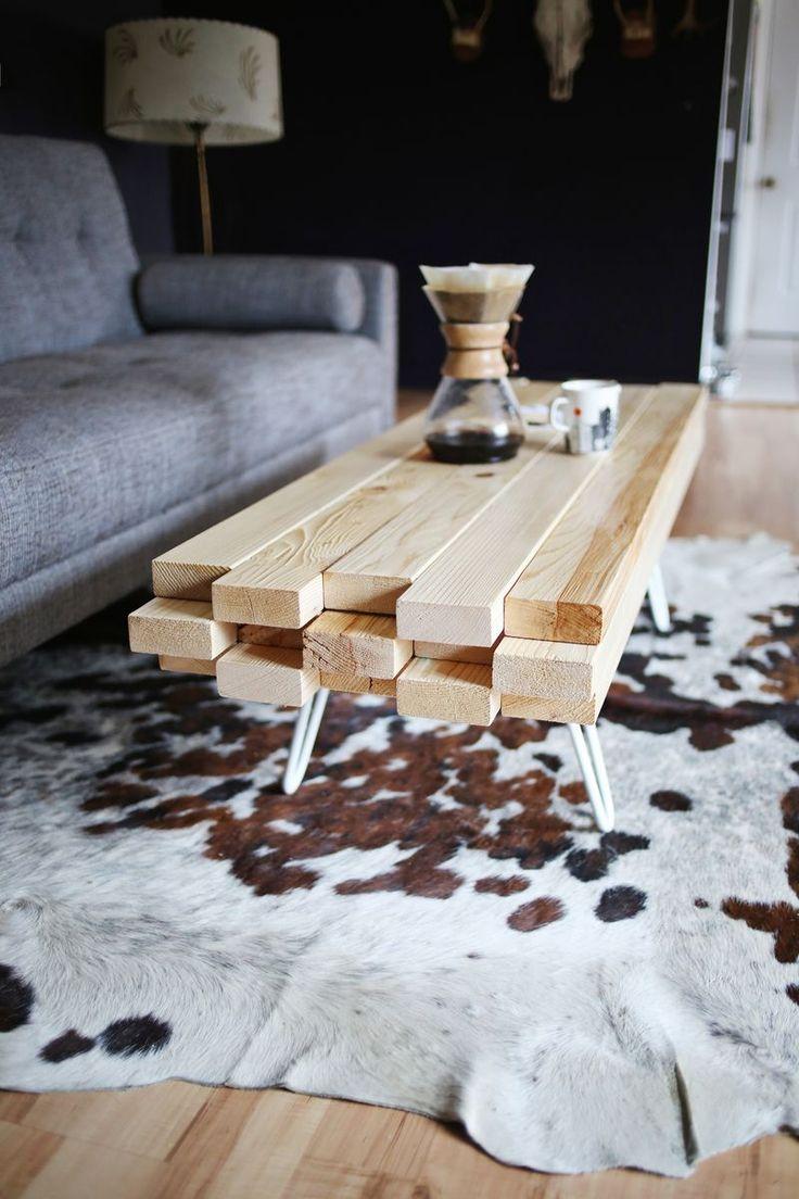 Décoration DIY table basse