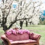 Canapés de jardin décoration