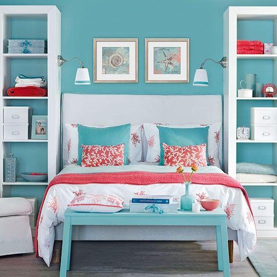 Des chambres turquoise pour l\'été ! - Floriane Lemarié