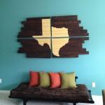 Décoration murs palettes