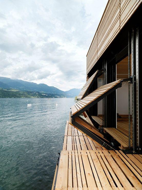 Décoration terrasse en bois