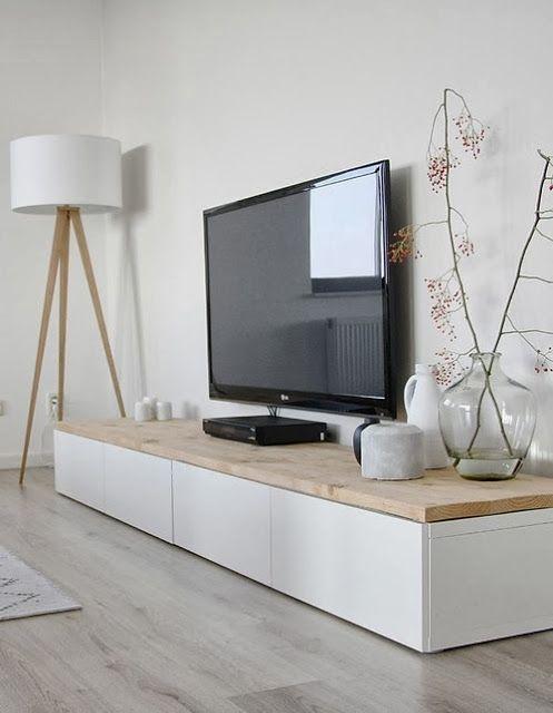 Décoration blanc noir bois