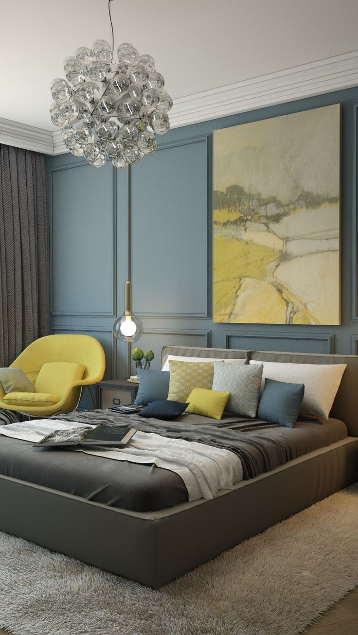 Deco Chambre Bleue - Fashion Designs