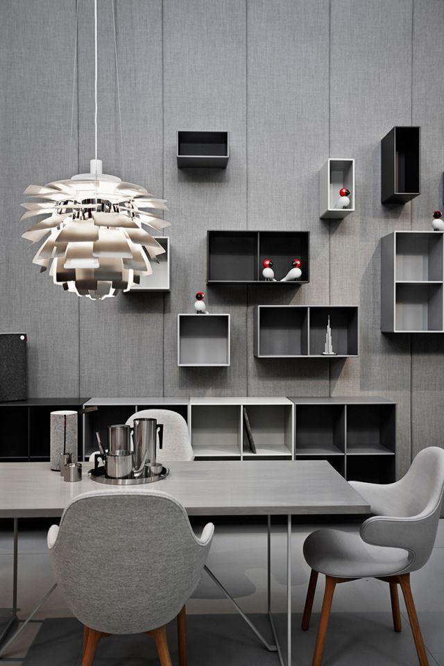 Décoration gris