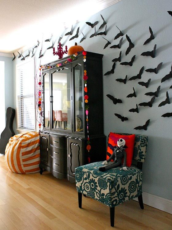 Decorating ideas for Halloween , Trendy Home Decorations