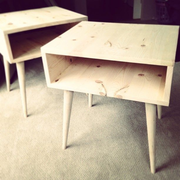 l 39 id e d co du dimanche une table de nuit diy floriane. Black Bedroom Furniture Sets. Home Design Ideas