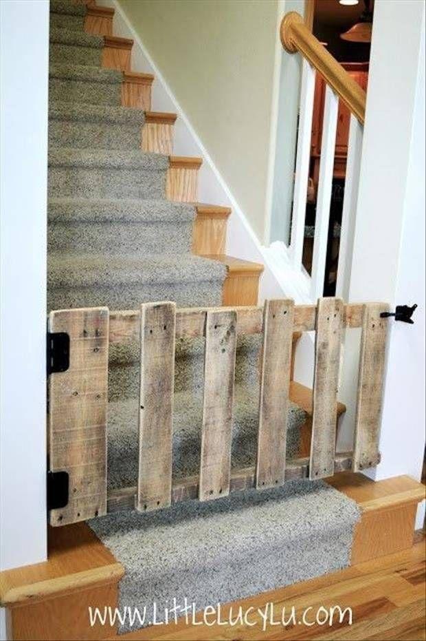 Décoration barrière escalier