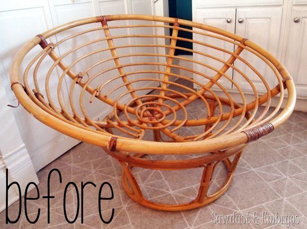 diy un fauteuil transform en baldaquin floriane lemari. Black Bedroom Furniture Sets. Home Design Ideas