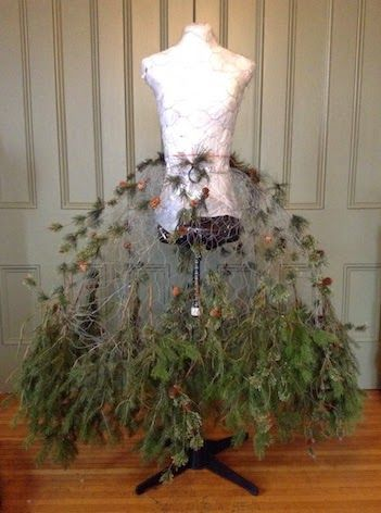 Inspirations pour no l des sapins haute couture for Ideas for dressing a christmas tree