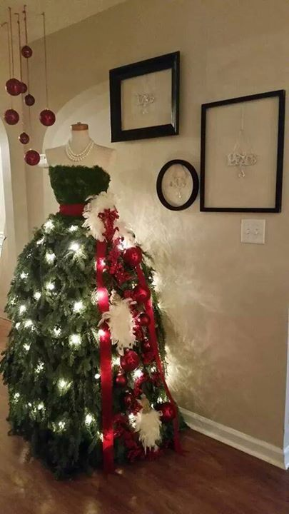 Inspirations pour no l des sapins haute couture How to dress the perfect christmas tree