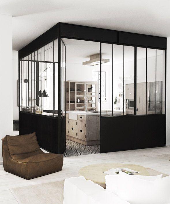 Une verri re atelier dans la maison floriane lemari for Atelier de la maison