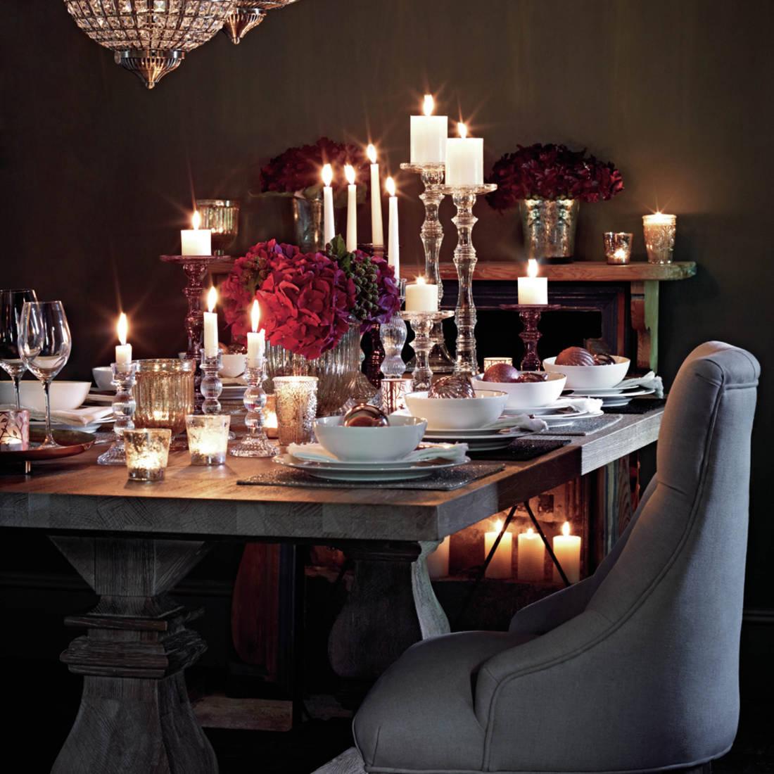De jolies tables pour le réveillon de Noël - Floriane Lemarié