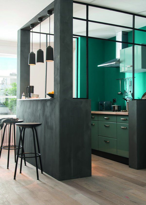 la cuisine se met au vert floriane lemari. Black Bedroom Furniture Sets. Home Design Ideas