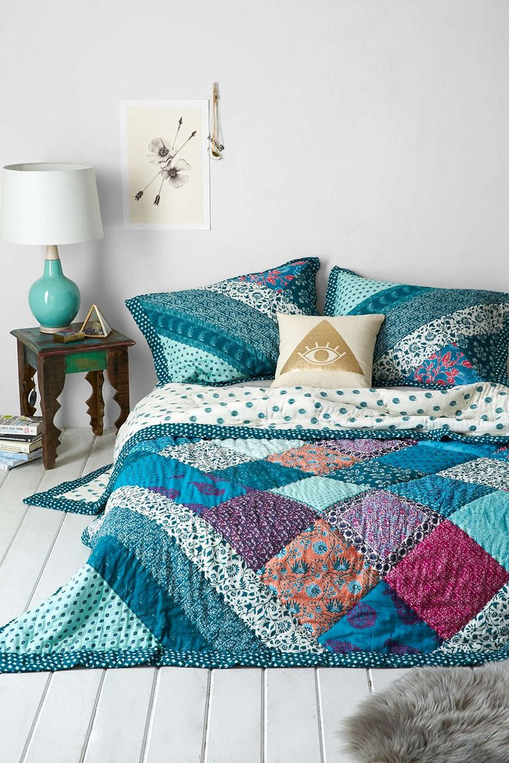 Patchwork style decor