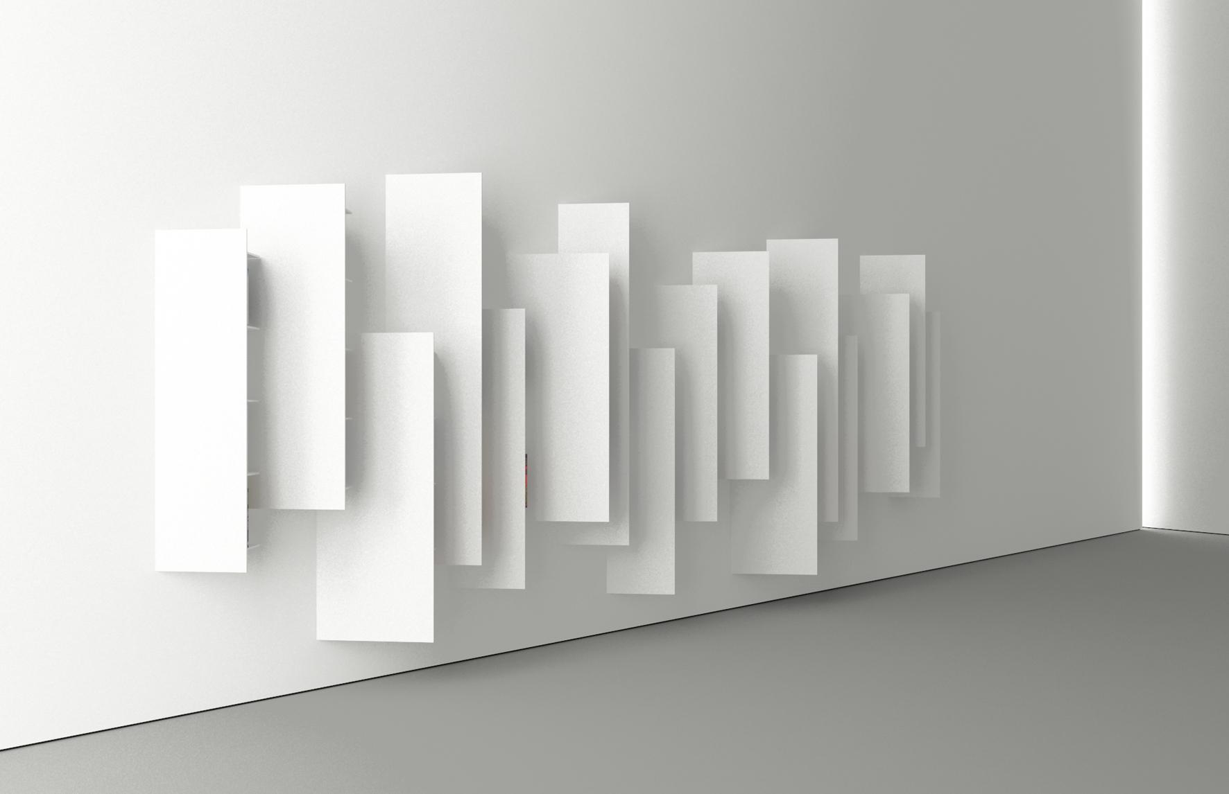 Coup de c ur une biblioth que minimaliste par victor for Oeuvre minimaliste
