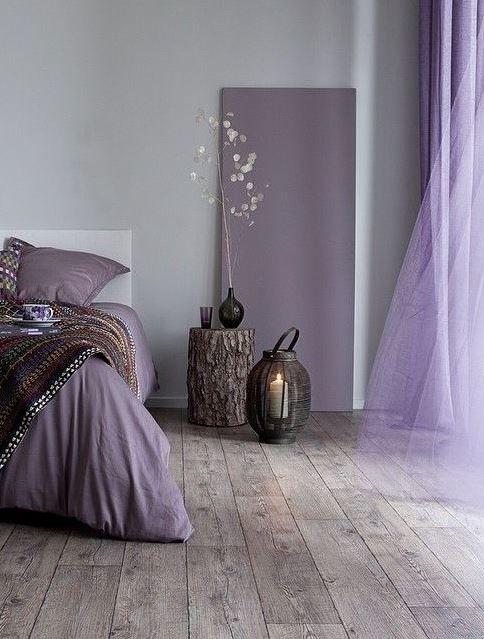 D corer avec du mauve floriane lemari for Decoration mauve et gris