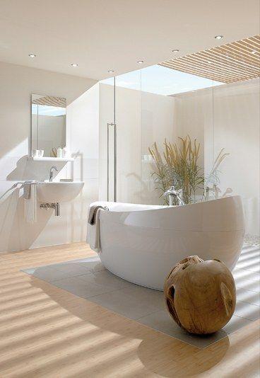 Ambiance zen dans la salle de bain floriane lemari for Ambiance salle de bain zen