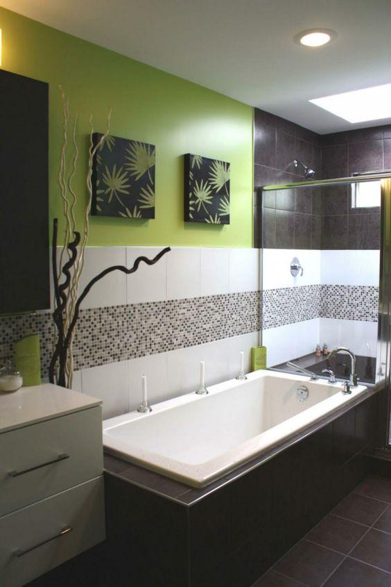 Décoration salle de bain zen
