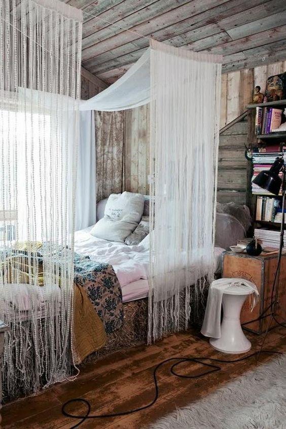 Décoration chambre bohème